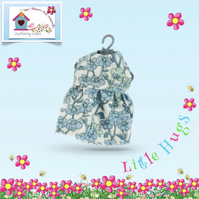 Blue Flowered Dress to fit the Little Hugs dolls and Baby Daisy