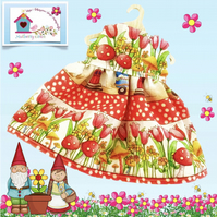 Toadstools and Tulips Dress