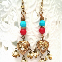 Indian Bead Earrings