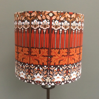 Sale READY TO POST Candida Peter Hall Moygashel Vintage Fabric 30cm Lampshade