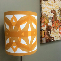 Koster design by Lisbeth Alexandersson Boras Mustard Yellow Lampshade option