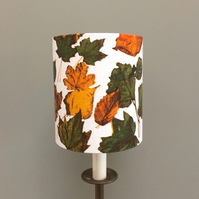 Autumn Leaves AUTOMNE French Vintage fabric Lampshade