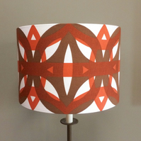 READY TO SEND Koster by L Alexandersson Boras vintage fabric 35cm w Lampshade