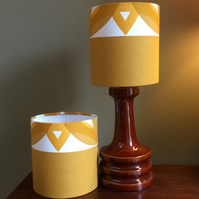 READY TO SEND Koster design Boras Mustard Yellow Lampshade option