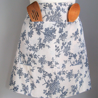 China Blue and White Half- Apron