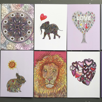 SALE! Set of 10 cards