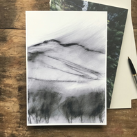 Win Hill PRINT - Peak District Landscape art print