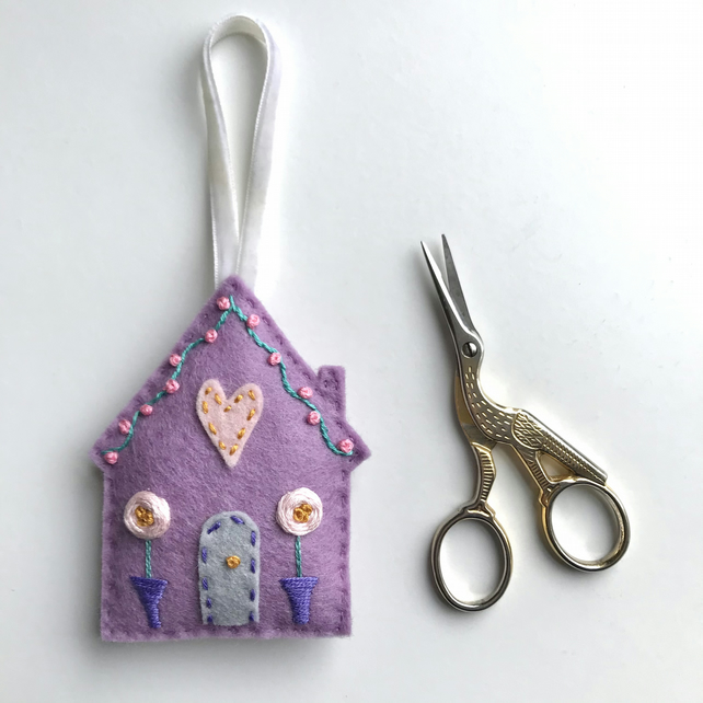 Little House Lavender Bag- option to add embroidered badge