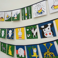 Book bunting - Miffy