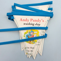 Book bunting - Andy Pandy's washing day