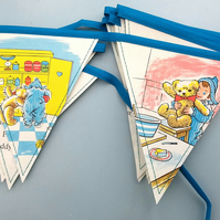 Book bunting - Andy Pandy and the gingerbread man
