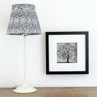 Framed Papercut Oak Tree