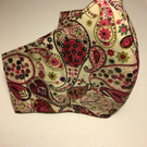 Liberty Tana Lawn shaped face covering