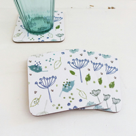 Blue Parsley Coasters