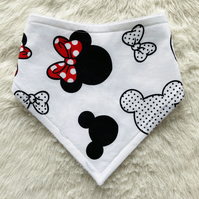 Dribble Bibs - Minnie Mouse