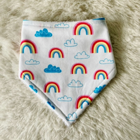 Dribble Bibs - Rainbows