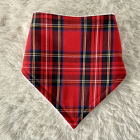 Dribble Bibs - Royal Stewart Tartan