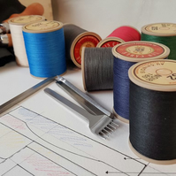 Lin Cable No. 532, Fil Au Chinois, 50g reel French Waxed Linen Thread