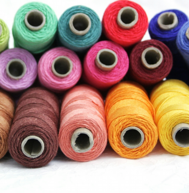 Linen Thread,  3-ply Goldschild (Londonderry), Bookbinding Thread, Embroidery
