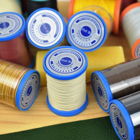 0.35mm diameter linen leather sewing thread, bookbinding thread, Fue Yung