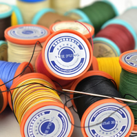 0.65 Yue Fung Linen Thread, 0.65mm diameter, 25g spool, Leather Sewing