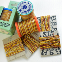 Yue Fung High Quality Linen Thread, Varigated, Leather Sewing, Bookbinding