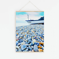 Blue Pebbles, Fine Art Photography Print, Various Sizes Available