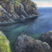 Cadgwith Cove from the Todden - ORIGINAL PAINTING