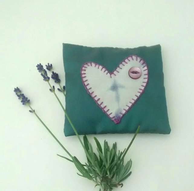 Lavender Bag, Heart  Design