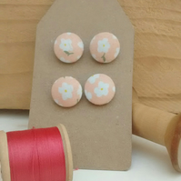 Fabric Buttons, Daisy Buttons