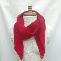 Women's Red Scarf