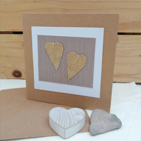 Golden Wedding Anniversary Card, 50th Anniversary