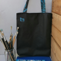 Tote Bag for Women in Faux Leather Fabric