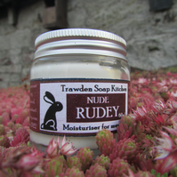 Nude Rudey - Unscented Moisturiser for Men Folk. 60ml glass jar