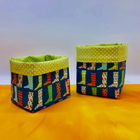 Fabric Storage Basket-Small