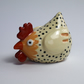 CUTE HANDMADE CERAMIC STONEWARE CHICKEN