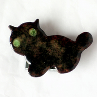 black kitten brooch No.3