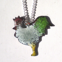 Pendant - cockerel No4