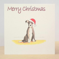 Christmas Card Christmas Puppy  Ecofriendly