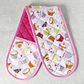 Oven Gloves, cup cakes, Quilted