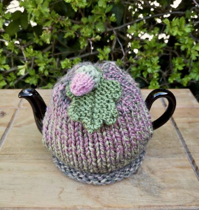 One Cup Autumnal Tea Cosy, Small Oak Leaf Tea Cozy