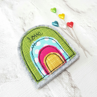 Rainbow fridge magnet decoration