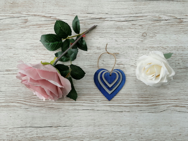 Small Wooden Heart Decoration