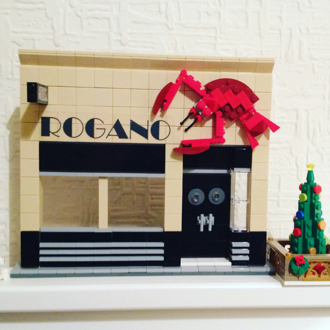 The Rogano Restaurant, Glasgow in Lego