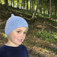 Frost Blue Gnome Hat