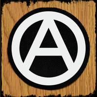 Anarchy Round Punk Patch