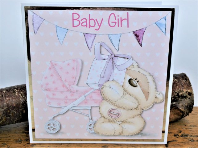 C3594 - New Baby Girl Card