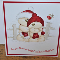 C3609 - Christmas Card - May your Christmas be filled....