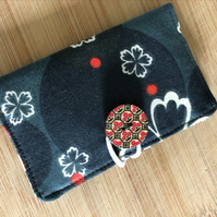 Fabric card holder, stocking filler, great present, free postage!
