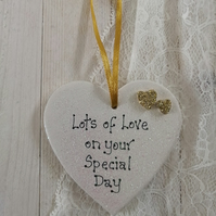 Ceramic Heart - Special Day